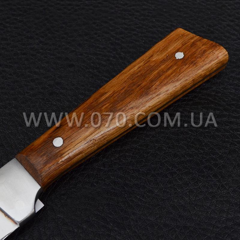 Нож бытовой, для разделки рыбы Спутник (250 x 22 x 1.5 мм), с притыном