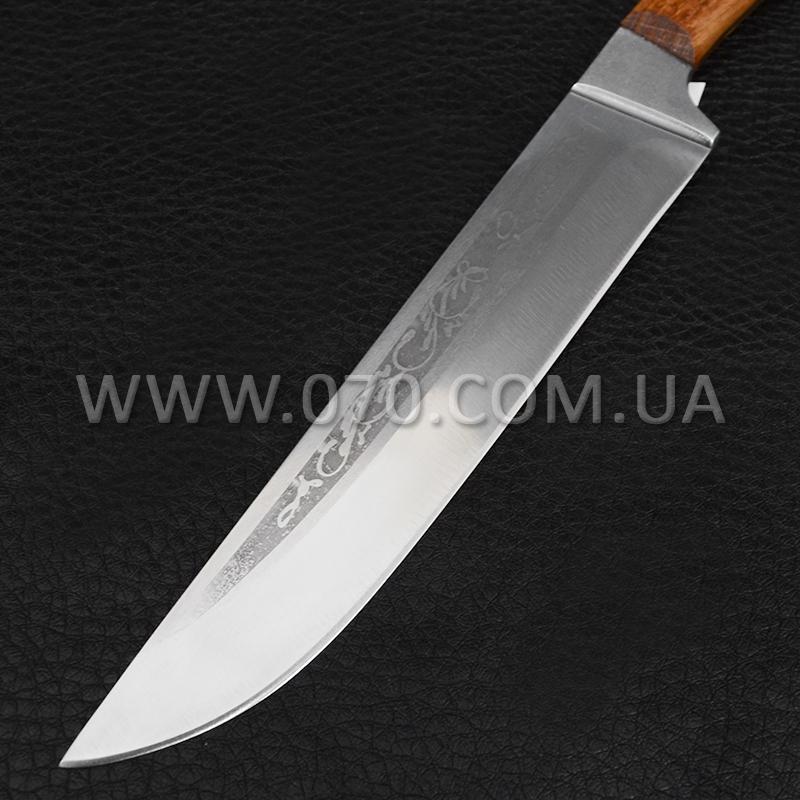 Нож бытовой, кухонный Спутник (270 х 28 x 1.5 мм), с притыном