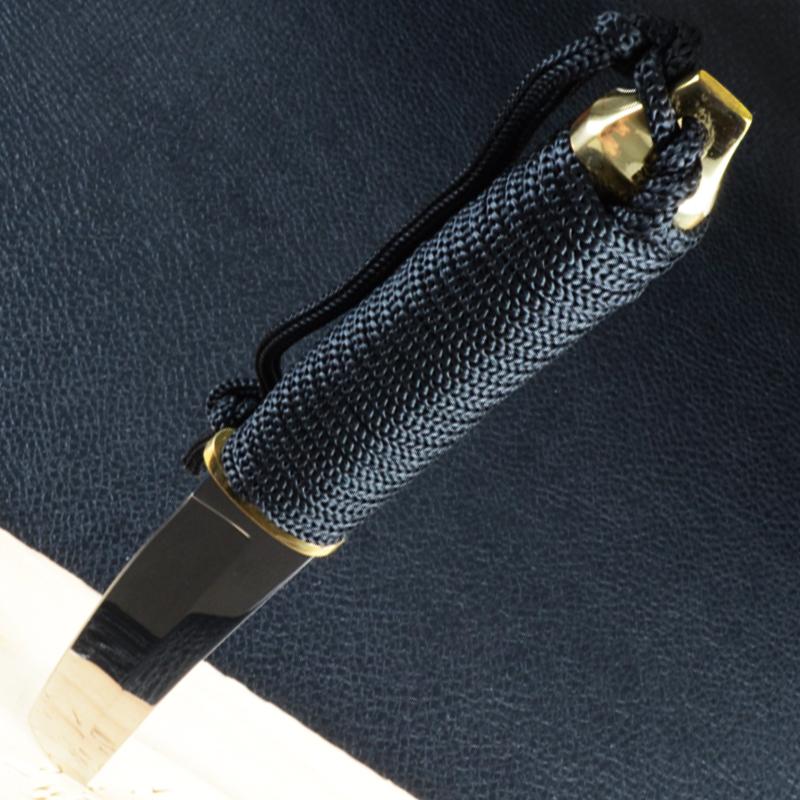 Нож фиксированный Танто, рукоять жгут (длина: 29cm, лезвие: 15.cm)