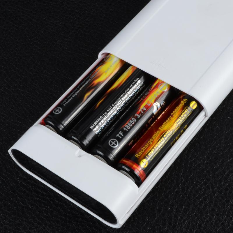 2 в 1 - Power Bank + зарядное устройство Soshine E3 (1-4x18650)