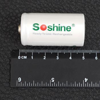 Аккумулятор никель-металлогидридный Ni-MH RTU C (R14) Soshine 1.2V (5500mAh)