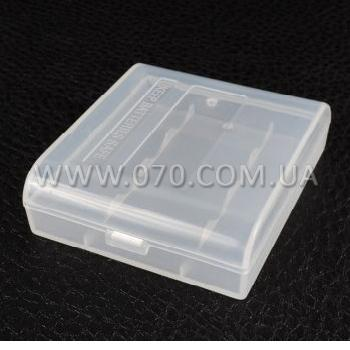 Коробочка для аккумуляторов, защитная Soshine SBC-004 (4xAA)