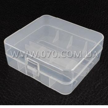 Коробочка для аккумуляторов, защитная Soshine SBC-015 (2x26650)