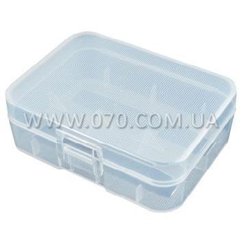 Коробочка для аккумуляторов, защитная Soshine SBC-016 (2x18500/3xCR123A)