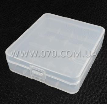 Коробочка для аккумуляторов, защитная Soshine SBC-017 (4x18650 / 8xCR123A)