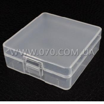 Коробочка для аккумуляторов, защитная Soshine SBC-018 (2xКрона-9V)