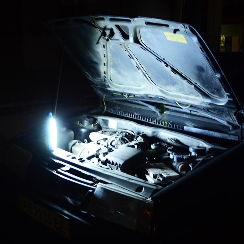 Фонарь аварийный с аккумулятором EL-6803-50 (50 LED)