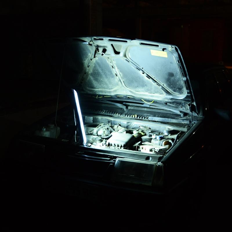 Фонарь аварийный с аккумулятором EL-6825-72 (72 LED)