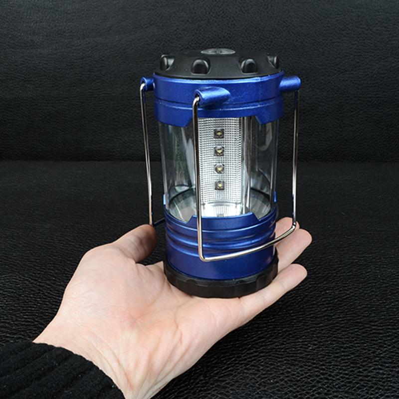 Кемпинговый фонарь (12 LED, 180 люмен, регулировка яркости, 3xAA)