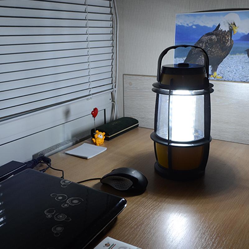 Кемпинговый фонарь (30 LED, 450  люмен, регулировка яркости, 4xD)