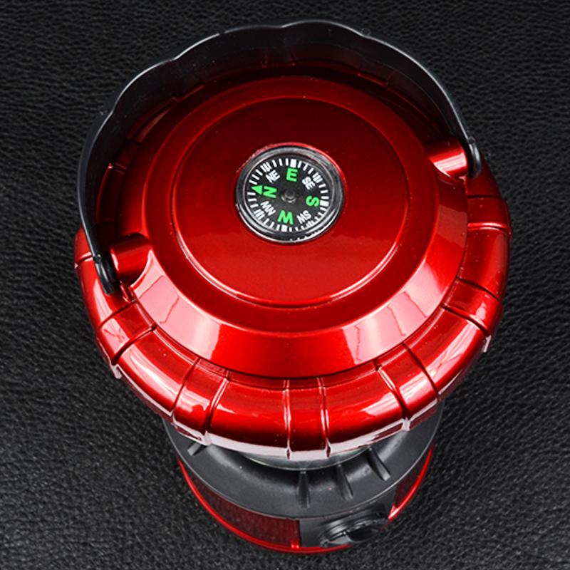 Кемпинговый фонарь, аварийный  (20 LED, 280  люмен, регулировка яркости, 4xAA/АКБ/220В)