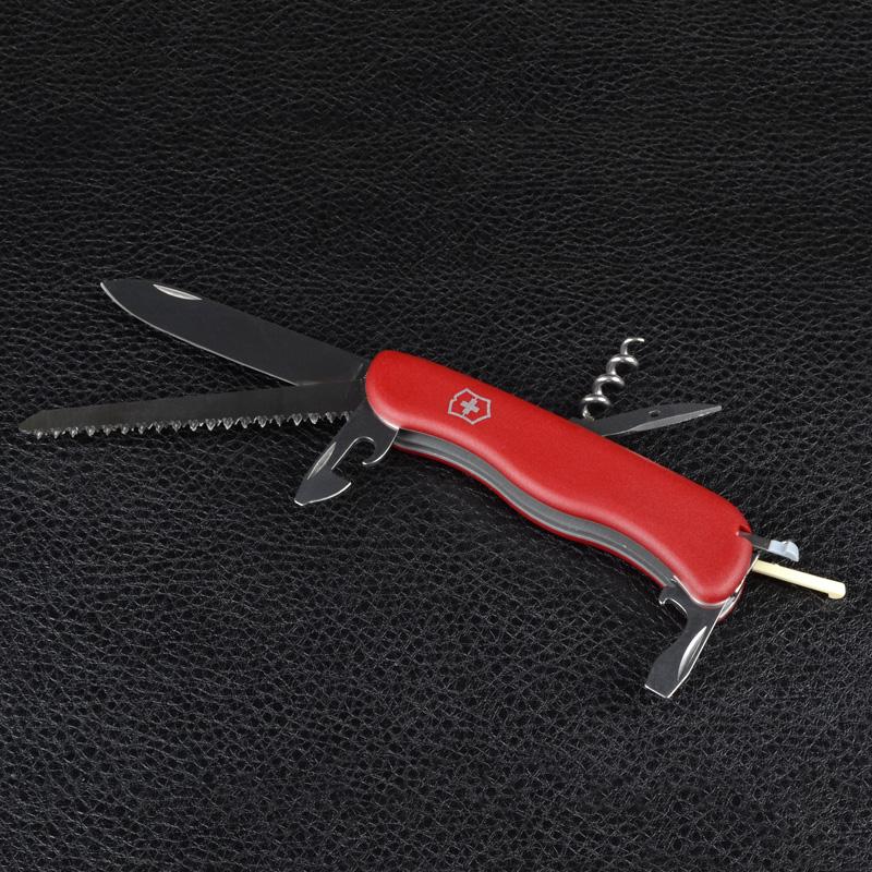 Нож складной, мультитул Victorinox Rucksack (111мм, 12 функций), красный 0.8863