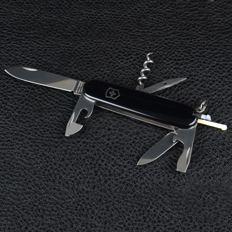 Нож складной, мультитул Victorinox Spartan (91мм, 12 функций), черный 1.3603.3