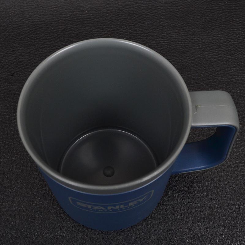 Термокружка с крышкой Stanley Adventure eCycle (0.47л), темно-синяя