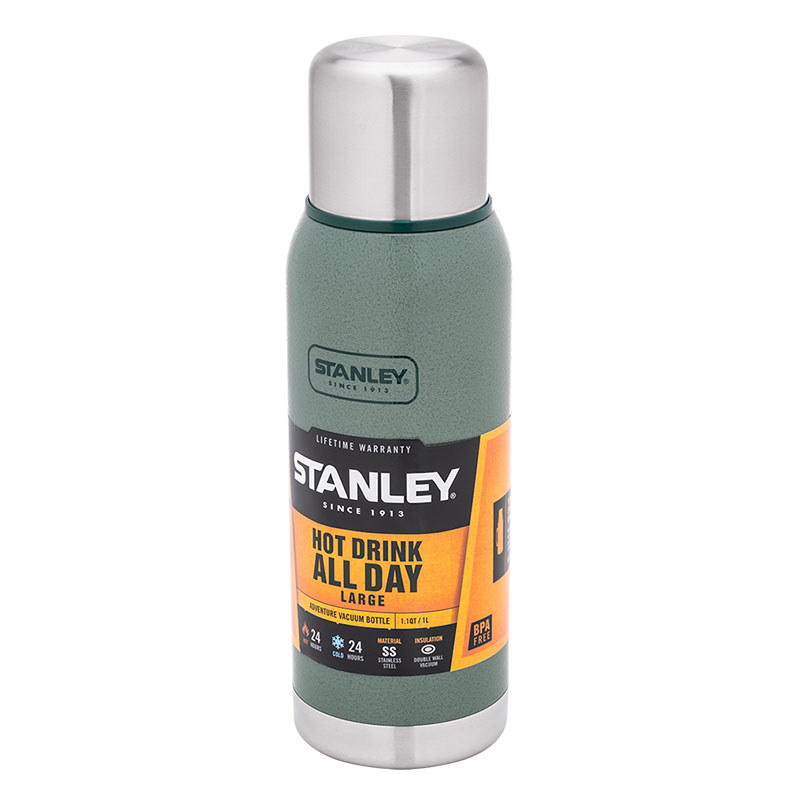 Термос Stanley Adventure (1.0л), зеленый