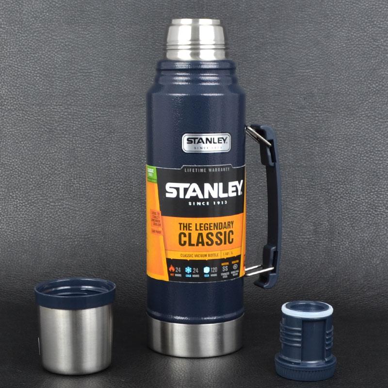 Термос Stanley Legendary Classic (1л), темно-синий