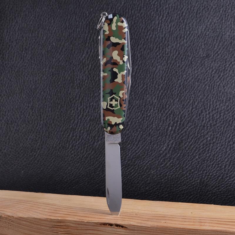 Нож складной, мультитул Victorinox Spartan (91мм, 12 функций), камуфляж 1.3603.94