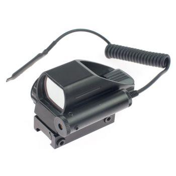 2 в 1 COMBO - Лазерный и Голографический коллиматорный прицел BOB Laser BOB-HDR33B (1xCR2032)