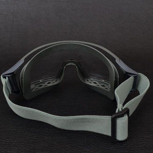 Очки тактические STR-62, оправа олива - 3