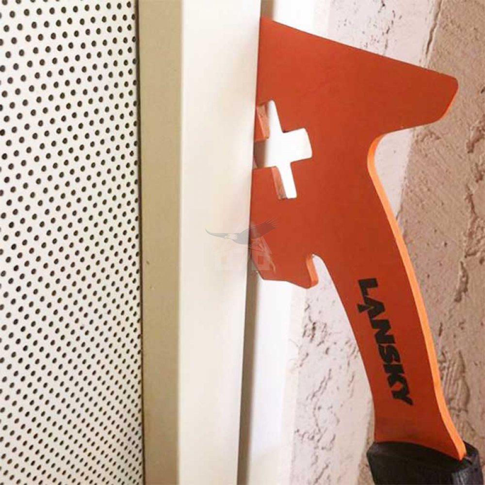 Топор Lansky Firemans Axe-15 (длина: 387мм), оранжевый, ножны - 4